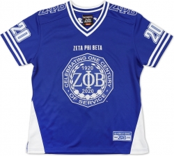 View Buying Options For The Big Boy Zeta Phi Beta Centennial Divine 9 S14 Ladies Football Jersey