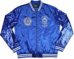 View Buying Options For The Big Boy Zeta Phi Beta Centennial Divine 9 S3 Ladies Sequins Jacket