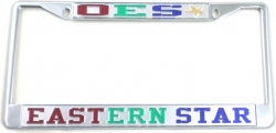 View Buying Options For The Eastern Star Classic License Plate Frame