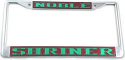 View Buying Options For The Shriner Noble License Plate Frame