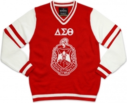 View Buying Options For The Big Boy Delta Sigma Theta Divine 9 S4 Ladies V-Neck Sweater