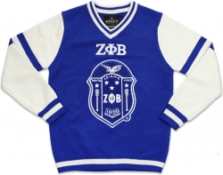 View Buying Options For The Big Boy Zeta Phi Beta Divine 9 S4 Ladies V-Neck Sweater