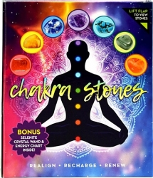 View Buying Options For The Chakra Stones and Selenite Gemstone Set