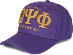 View Buying Options For The Big Boy Omega Psi Phi Divine 9 S4 Woolblend Mens Cap