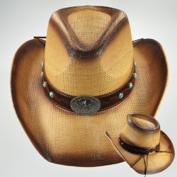 View Buying Options For The Star Badge Mens Cowboy Hat