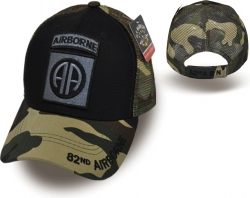 View Buying Options For The 82nd Airborne Camo Meshback Mens Cap