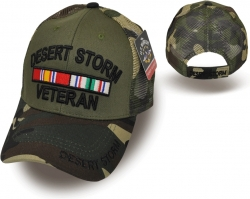 View Buying Options For The Desert Storm Veteran Camo Meshback Mens Cap