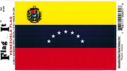View Buying Options For The Venezuela Flag Car Decal Sticker [Pre-Pack]