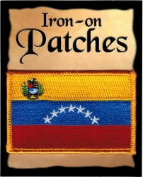 View Buying Options For The Venezuela Flag Iron-On Patch [Pre-Pack]