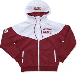 View Buying Options For The Big Boy Alabama A&M Bulldogs S4 Mens Windbreaker Jacket