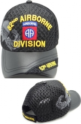 View Buying Options For The 82nd Airborne Division Shadow Vinyl Bill Mens Air Mesh Cap