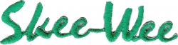 View Buying Options For The Alpha Kappa Alpha Skee Wee Script Iron-On Patch