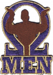 View Buying Options For The Omega Psi Phi Que Men Iron-On Patch
