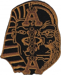 View Buying Options For The Alpha Phi Alpha Half Sphinx Half Ape Head Iron-On Patch