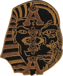 View Buying Options For The Alpha Phi Alpha Half Sphinx Half Guerrilla/Ape Head Iron-On Patch
