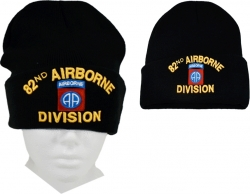View Buying Options For The 82nd Airborne Division Mens Cuffed Beanie Cap