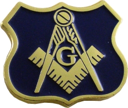 View Buying Options For The Mason Blue House Policeman Lapel Pin
