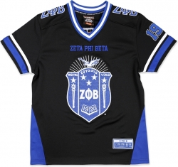 View Buying Options For The Big Boy Zeta Phi Beta Divine 9 Rhinestud S13 Ladies Football Jersey