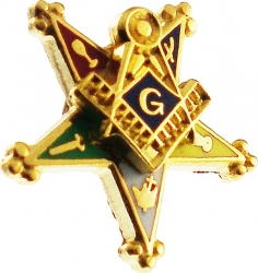 View Buying Options For The Eastern Star Past Patron Symbol Small Lapel Pin