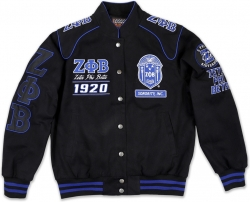 View Buying Options For The Big Boy Zeta Phi Beta Divine 9 S10 Ladies Twill Racing Jacket