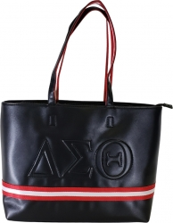 View Buying Options For The Buffalo Dallas Delta Sigma Theta Line Embossed Tote Bag
