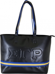 View Buying Options For The Buffalo Dallas Sigma Gamma Rho Line Embossed Tote
