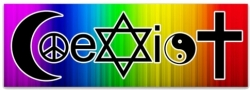 View Buying Options For The Coexist Rainbow Magnet [Pre-Pack]