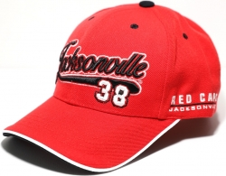 View Buying Options For The Big Boy Jacksonville Red Caps Legacy S41 Mens Baseball Cap