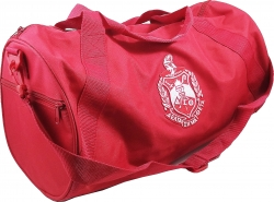 View Buying Options For The Delta Sigma Theta Crest Barrel Duffle Bag