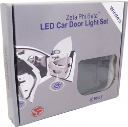View Buying Options For The Zeta Phi Beta Original Crest LED Car Door Light Set [Pre-Pack]