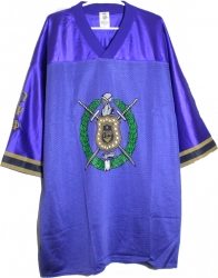 View Buying Options For The Omega Psi Phi Escutcheon Shield Mesh Football Jersey