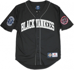 0f442d3d0ed46 View Buying Options For The Big Boy New York Black Yankees Legends S4 Mens  Baseball Jersey