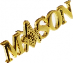 View Buying Options For The Mason Symbol In Letters Lapel Pin