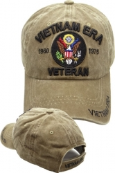 View Buying Options For The Vietnam Era Veteran Washed Cotton Relaxed Mens Cap