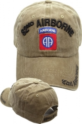 View Buying Options For The 82nd Airborne Washed Cotton Mens Cap