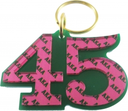 View Buying Options For The Alpha Kappa Alpha Color Mirror Line #45 Keychain