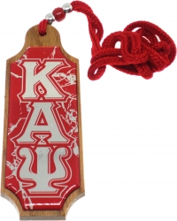 View Buying Options For The Kappa Alpha Psi Domed Wood Medallion