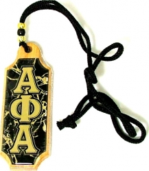 View Buying Options For The Alpha Phi Alpha Domed Wood Medallion