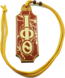 View Buying Options For The Iota Phi Theta Domed Wood Medallion
