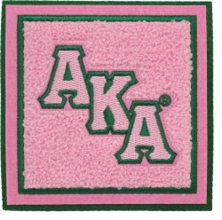 View Buying Options For The Alpha Kappa Alpha Chenille Drink Coaster Set [Pre-Pack]