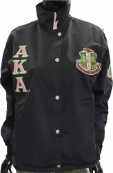 View Buying Options For The Alpha Kappa Alpha Sorority Ladies All-Weather Windbreaker Jacket