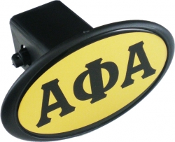 View Buying Options For The Alpha Phi Alpha Mirror Domed Trailer Hitch Cover