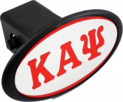 View Buying Options For The Kappa Alpha Psi Mirror Domed Trailer Hitch Cover