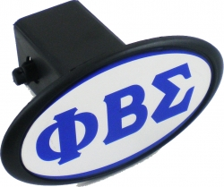 View Buying Options For The Phi Beta Sigma Mirror Domed Trailer Hitch Cover