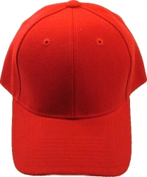 View Buying Options For The Classic Plain Curved Bill Mens Fitted Cap