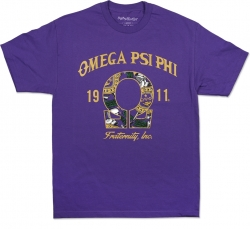 View Buying Options For The Big Boy Omega Psi Phi Graphic Divine 9 S14 Mens Tee