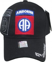 View Buying Options For The 82nd Airborne Division Logo Shadow Mens Cap