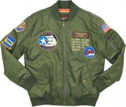 View Buying Options For The Big Boy Tuskegee Airmen Bomber Flight S2 Mens Jacket