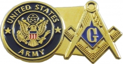 View Buying Options For The US Army + Mason Double Duty Lapel Pin