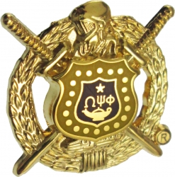 View Buying Options For The Omega Psi Phi Escutcheon Shield Lapel Pin